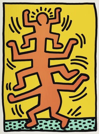 Keith Haring, 'Growing', 1988