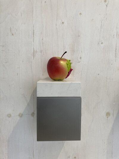 Yosuke Amemiya, 'Apple (cadmium green pale & rose madder)', 2020