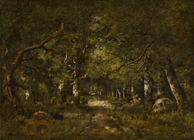 Narcisse Diaz de la Peña, 'Forest Scene', 1874