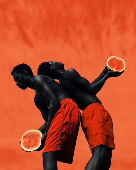 Derrick Ofosu Boateng, 'You are one in a melon 1', 2019