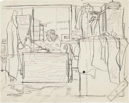 Richard Diebenkorn, 'Untitled', c. 1944–45