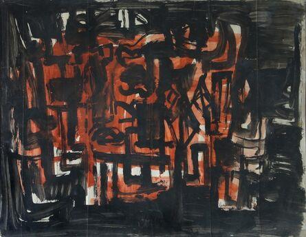 Rasheed Araeen, 'HYD Abstraction', 1963