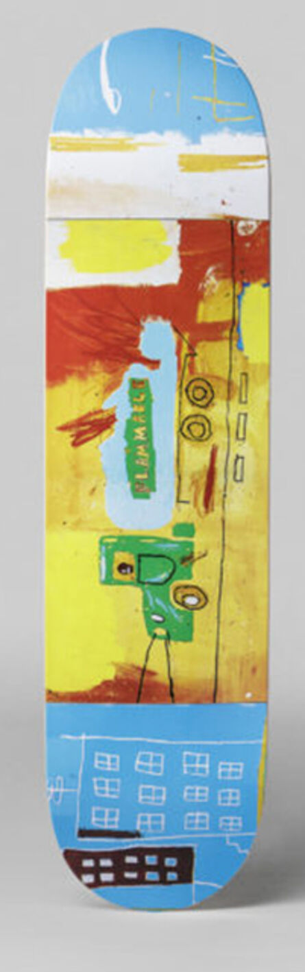 Jean-Michel Basquiat, 'Gastruck', ca. 2017