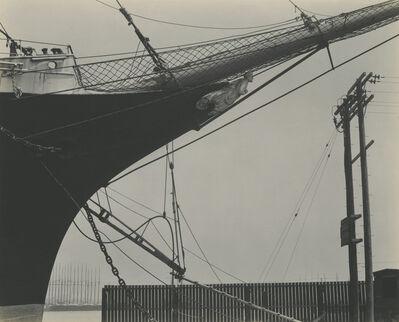 Edward Weston, 'Ships Prow, San Francisco', ca. 1925