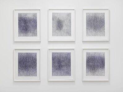 Christiane Baumgartner, 'With and Without Thinking - Ultramarine', 2017