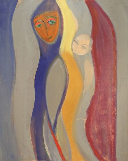 Jak Ikhmalyan, 'The Mother and Child', 1973