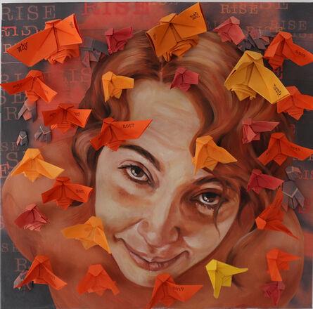 Milena Martinez Pedrosa, 'I Rise (orange)', 2018