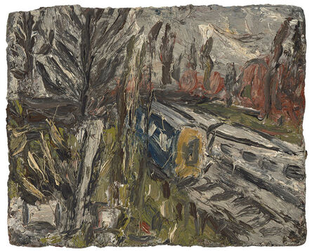 Leon Kossoff, 'Between Kilburn and Willesden Green, Spring Afternoon 1991', 1991