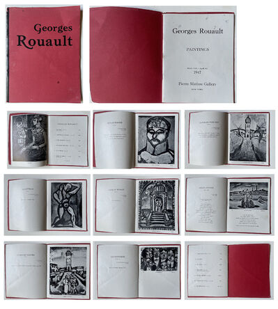 """Georges Rouault, '""""Georges Rouault- Paintings"""", Exhibition Catalogue, Pierre Matisse Gallery NYC', 1947"""