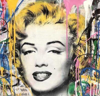 Mr. Brainwash, 'Marilyn (Original one of a kind)', 2018
