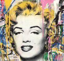 Mr. Brainwash, 'Marilyn (Original one of a kind)', 2018