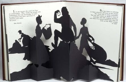 Kara Walker, 'Freedom, a Fable: A Curious Interpretation of the Witof a Negress in Troubled Times', 1997