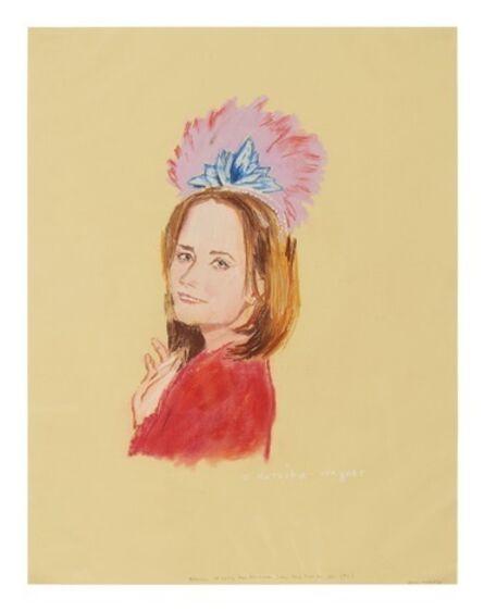 Karen Kilimnik, 'NATASHA WAGNER', 1993