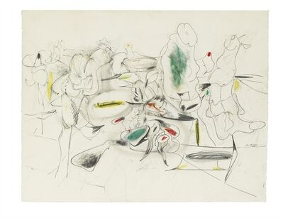 Arshile Gorky, 'Study for Good Afternoon, Mrs. Lincoln'