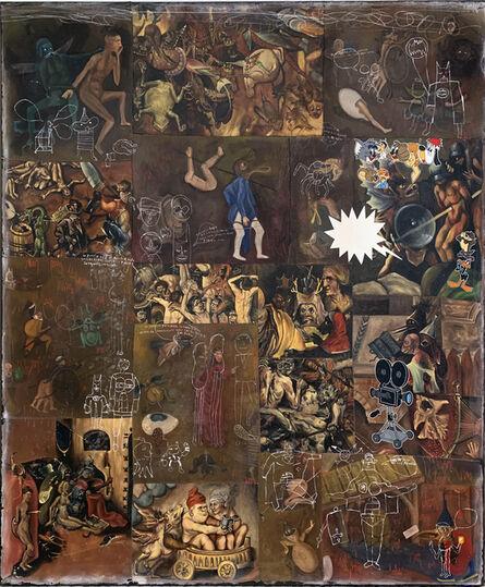 Armando Romero, 'Las Tentaciones de San Antonio XIII', 2018