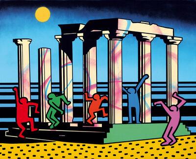 Speedy Graphito, 'Full Moon Party', 2016