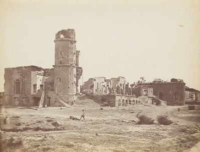 Felice Beato, 'Residency, Lucknow', 1858