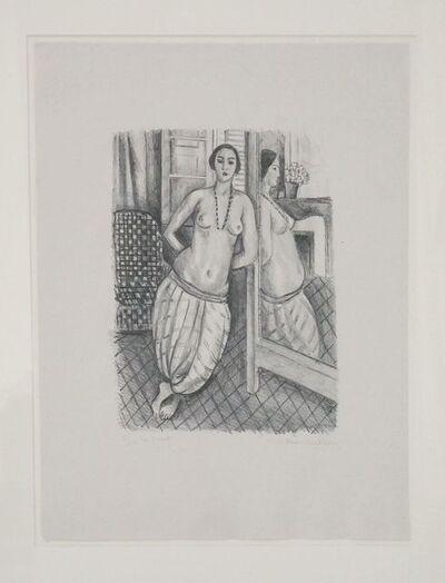 Henri Matisse, 'Odalisque à la culotte rayée, reflétée dans la glace ', 1923