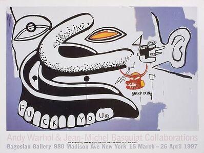 Jean-Michel Basquiat, 'Andy Warhol & Jean-Michel Basquiat Collaborations Poster', 1997