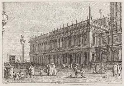 Canaletto, 'La libreria. V. [upper left]', in or before 1742