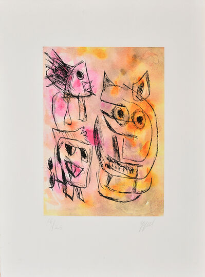 Karel Appel, 'Nostalgia of lost desire', 1998