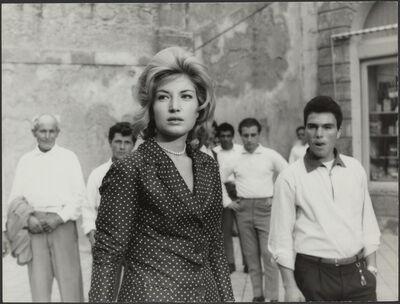 Michelangelo Antonioni, 'L'avventura (film still with Monica Vitti)', 1960