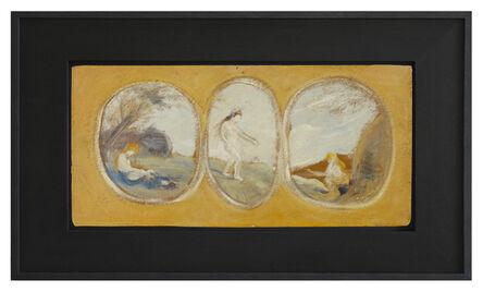 Louis Michel Eilshemius, 'Three Nudes', 1909-1913