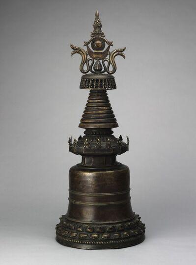'Reliquary Stupa', 14th century