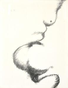 Robert Couturier (1905-1988), 'Torse En Diagonale', 1976