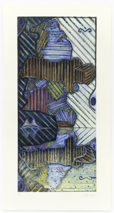 Jasper Johns, 'Green Angel II', 1997