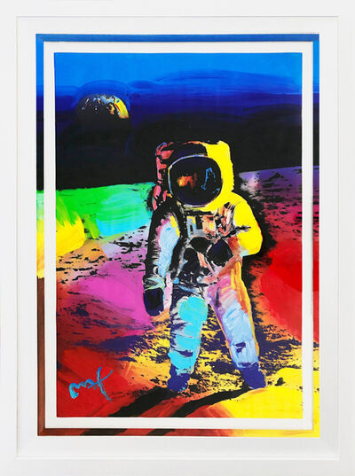 Peter Max, 'WALKING ON THE MOON #12', 2009
