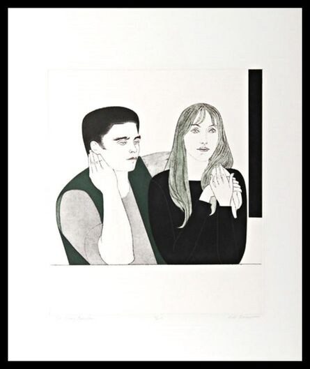 Will Barnet, 'The Young Couple (Cole 141)', 1971