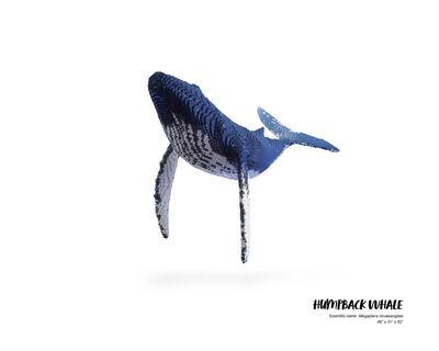 Nathan Sawaya, 'Humpback Whale #1', 2019