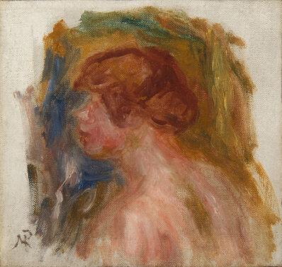 Pierre-Auguste Renoir, 'Buste de jeune femme', Unknown