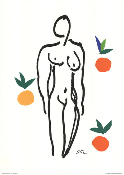 Henri Matisse, 'Nude With Fruits', 1994