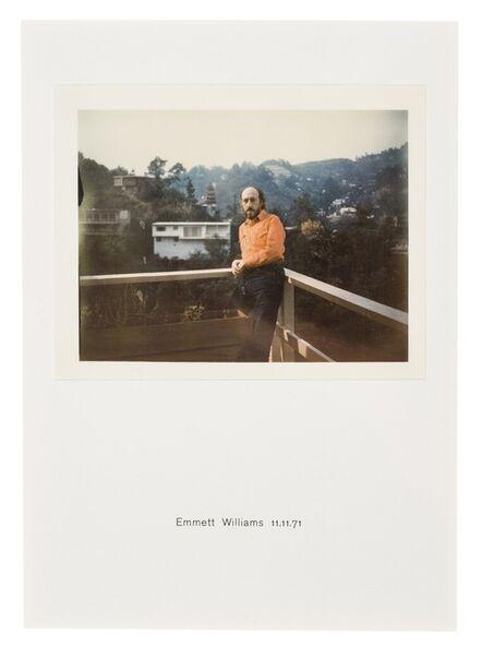 Richard Hamilton, 'Polaroid Portrait, Emmett Williams 11.11.71', 1971/2010