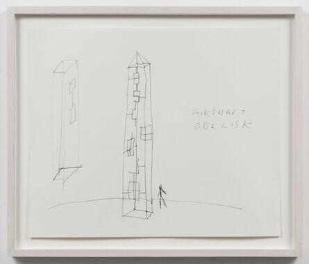 Paul Thek, 'Untitled (Air Shaft Obelisk)', ca. 1986