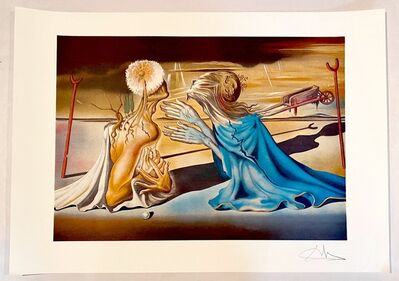 Salvador Dalí, 'Tristan et Iseut', 1985
