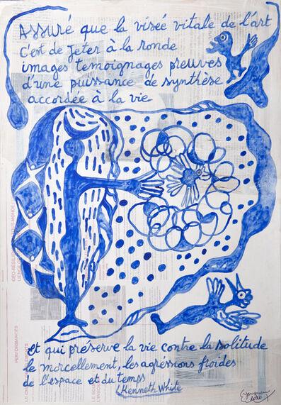 Hervé Yamguen, 'Hommage à Kenneth White #1', 2020