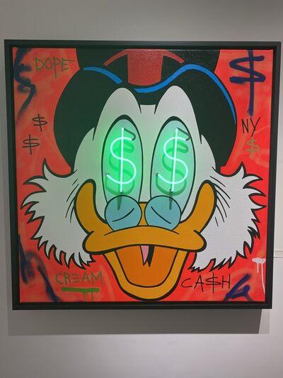 A. Gomez, 'A. Gomez, Money Scrooge Cash Only', 2021