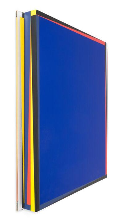 René Ugarte, 'Deux rectangles bleus (right section)', 2014
