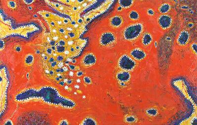Gunter Damisch, 'Rotfeldwelten Gelbbuchten', 2010