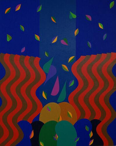 Mohamed Melehi, 'Nature in disorder', 2017
