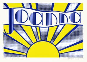 Roy Lichtenstein, 'Joanna (Corlett III.24)', 1968