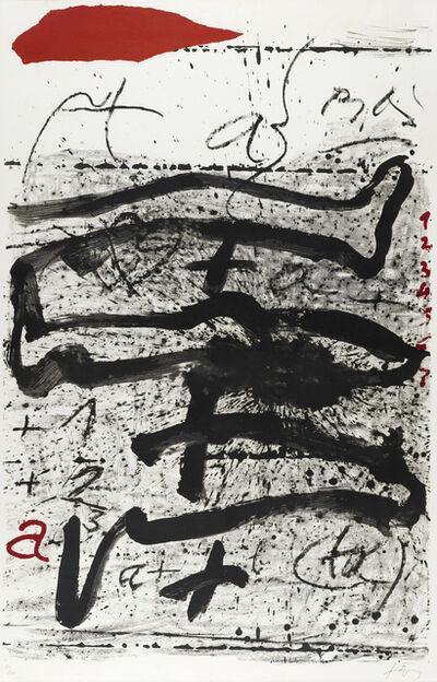Antoni Tàpies, 'Untitled', ca. 1991