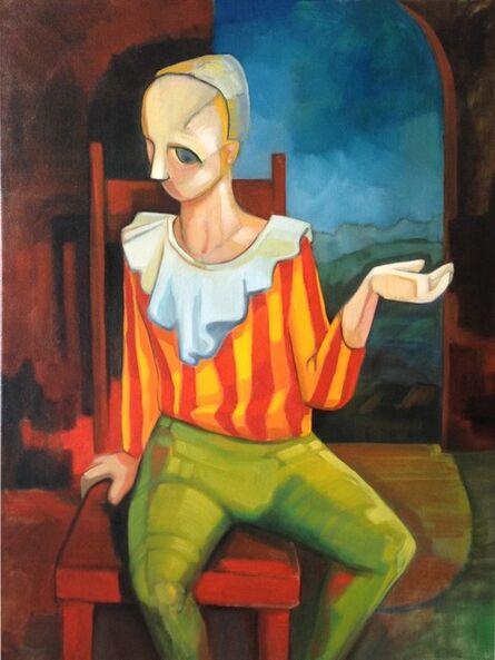 Sandro Nocentini, 'Boy with striped shirt', 2013