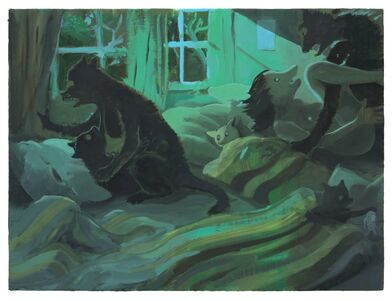 Tilo Baumgärtel, 'Savages', 2013