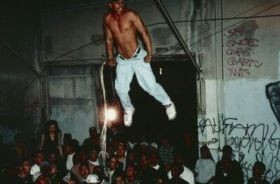 """Lauren Greenfield, '""""Free Sex"""" Party Crew Party, East Los Angeles', 1993"""