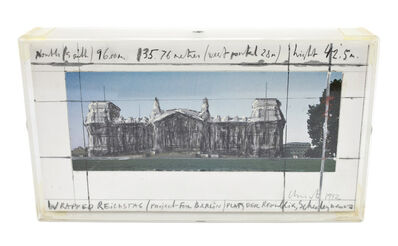 Christo, 'Wrapped Reichstag', 1992