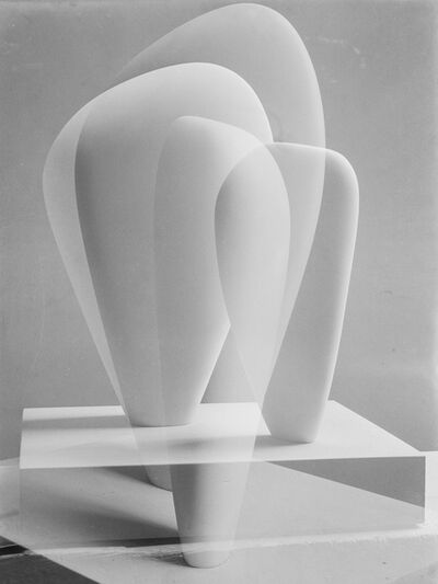 Barbara Hepworth, 'Double Exposure of Two Forms', 1937